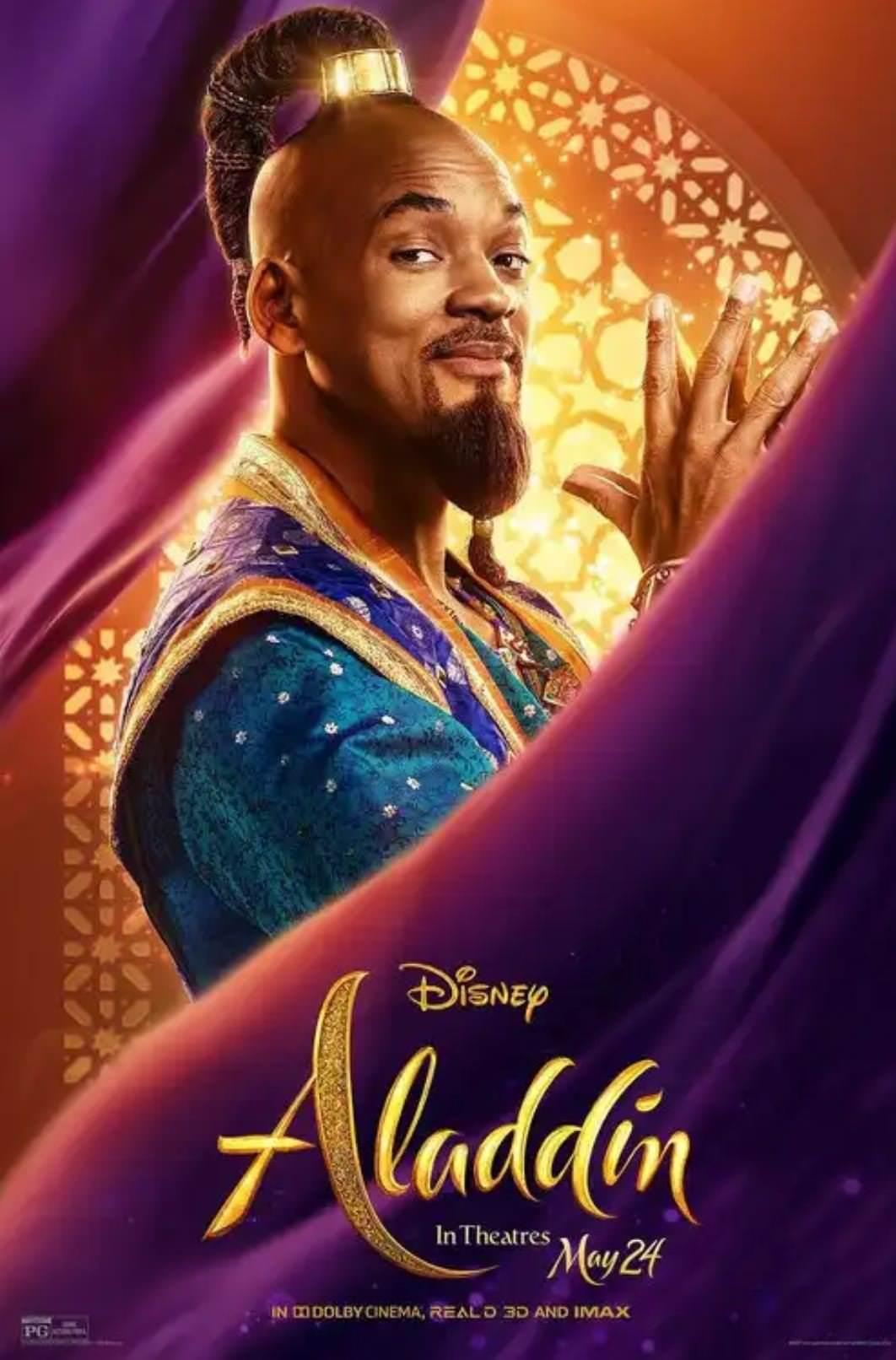 電影【阿拉丁】真人版影評:威爾史密斯的精靈隱喻,要當主人還是奴隸?!Aladdin Genie