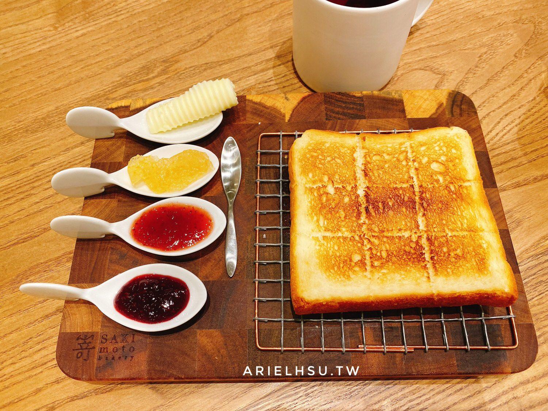 【食記】台北信義101嵜本 SAKImoto bakery 高級生吐司專門店(台北101店)